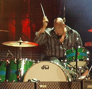 Abe Laboriel Jr. - Playing as sideman with Paul McCartney in Tel Aviv, 2008