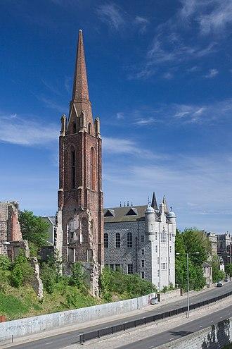 Religion in Aberdeen - Image: Aberdeen Church ruin