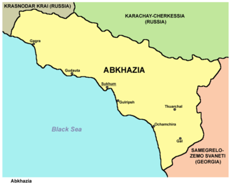 International recognition of Abkhazia and South Ossetia - Abkhazia is recognised by Russia and three other countries