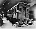 Abraham Lincoln's private railroad car on exhibit at the 1904 World's Fair.jpg