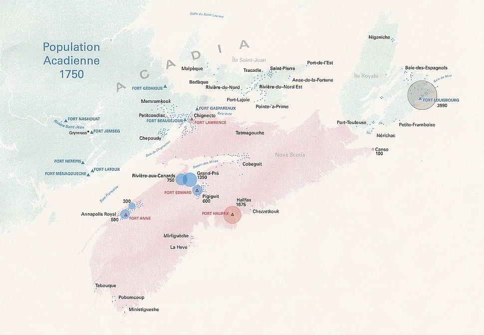 Acadie 1750