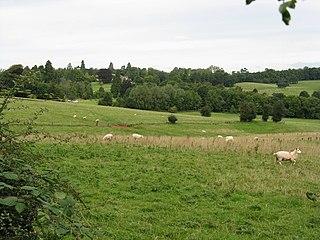Bredenbury village in United Kingdom