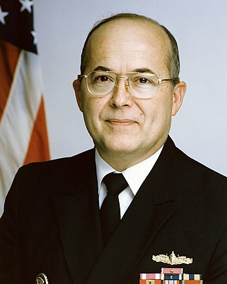 Total Information Awareness - Adm. John Poindexter, the Director of the Information Awareness Office and chief supporter of TIA