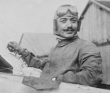 History's first flying ace, Adolphe Pégoud