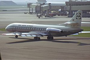 Adria Airways - Inex-Adria Caravelle in 1972