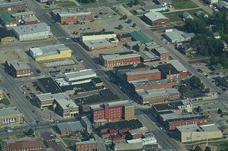 Chanute, Kansas - Aerial view of Chanute (2013)