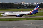 Aeroflot, VP-BPF, Boeing 737-8MC (37631034496) (3).jpg