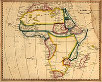 An 1812 map of Africa