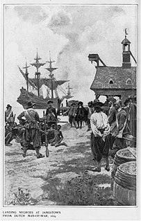 <i>The White Lion</i> Privateer which brought the first Africans to Virginia