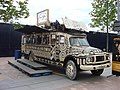 Afrika^ Afrika^, Circus box office Bedford truck outside the O2 Centre, London - geograph.org.uk - 823137.jpg