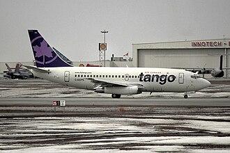 Air Canada Tango - An Air Canada Tango Boeing 737-200