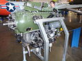 Aircraft engine at Wings Over the Rockies Air and Space Museum (4283386906).jpg