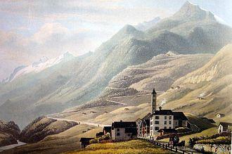 Airolo - Airolo in 1835