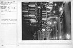 Airplanes - Engines - Aircraft Testing Field, Packard Motor Co., Detroit, Michigan. Machining cylinder barrels - NARA - 17338507.jpg