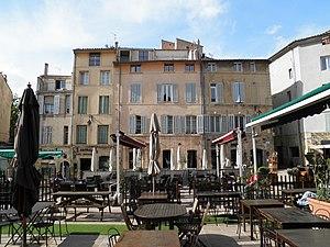 Aix-en-Provence - Terrasse in Aix.
