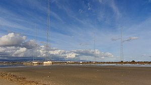 Akrotiri and Dhekelia - BBC World Service transmitter masts in Akrotiri
