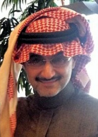 Al-Waleed bin Talal, Saudi Arabian businessman, investor and royal