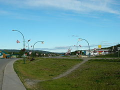 Alaska Highway Through Watson Lake.jpg