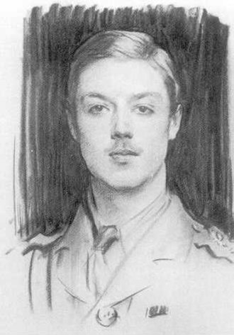 Albert Spencer, 7th Earl Spencer - Albert Spencer, Viscount Althorp, in WW1 uniform. Painted by John Singer Sargent, in 1915.