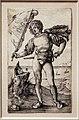 Albrecht dürer, il porta stendardo, 1500 ca., incisione.jpg