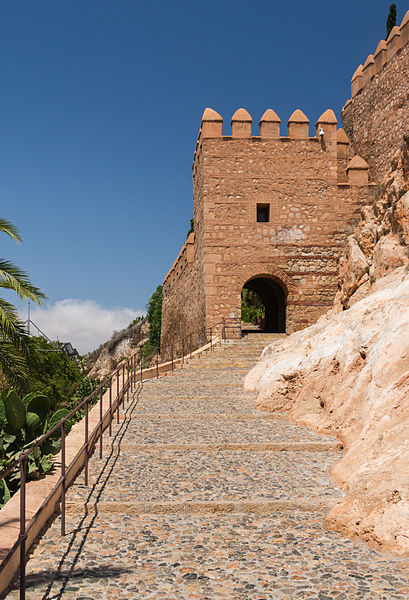 File:Alcazaba, main entrance, Almeria, Spain.jpg