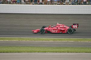 Alex Lloyd (racing driver) - Lloyd driving in the 2009 Indy 500