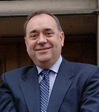 Alex Salmond is leader of the SNP.