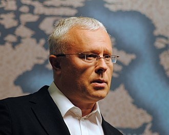 Alexander Lebedev - Lebedev at Chatham House in 2012
