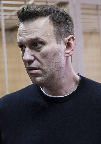 Alexei Navalny - Image: Alexei Navalny 2017