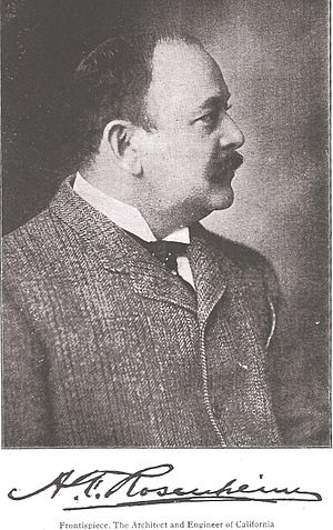 Alfred Rosenheim - Image: Alfred F. Rosenheim