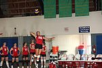 All-armed forces tournament not first big dance for one Marine 110412-M-EY704-417.jpg