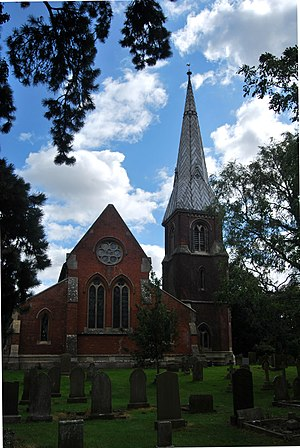 Fosdyke - Image: All Saints Church Fosdyke