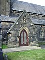 All Saints with St John the Baptist Church, Burnley, Porch - geograph.org.uk - 994213.jpg