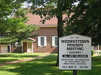 Moorestown, New Jersey - Friends Meeting House