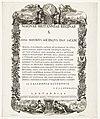 Allegorie ter ere van koningin Anna in het bereiken van de Vrede van Utrecht, 1713 Magnae Britanniae Reginae S. Anna Hostibus Sociisque Dat Pacem (titel op object), RP-P-OB-83.362.jpg