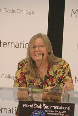 Allison at the Miami Book Fair International 2011