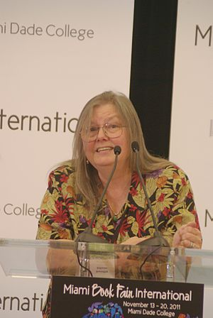 Dorothy Allison - Allison at the Miami Book Fair International 2011