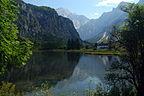Austria - Letnie sanki z widokiem na jezioro Wolfg