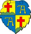 Alpirsbach (Kloster) Wappenschild farbig.png