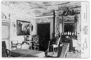Charles de Salis - Das Altes Gebau in Chur. The house his grandfather built c1728