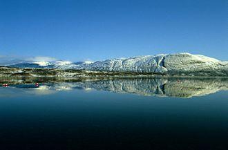 Altevatnet - View of the lake