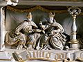 Altmünster St.Benedikt - Allerheiligenaltar 7 Predella.jpg