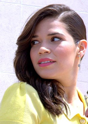 59th Primetime Emmy Awards - America Ferrera, Outstanding Lead Actress in a Comedy Series winner, first Latin woman to do so