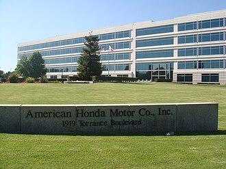 American Honda Motor Company - American Honda headquarters in Torrance, California