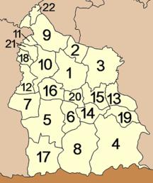 Provincia di Sisaket-Suddivisione amministrativa-Amphoe Sisaket