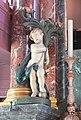 Amsterdam - Museum Ons' Lieve Heer op Solder - angel wood statue.JPG