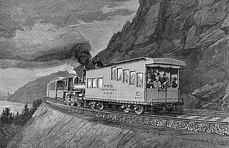 Rail inspection - An Inspection Car En Route, 1891