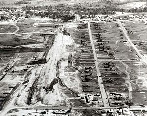 An Khê District - Image: An Khe airfield 1965