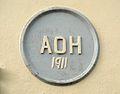 Ancient Order of Hibernians (AOH) 1911 plaque, Kanturk, Co Cork, Ireland.JPG
