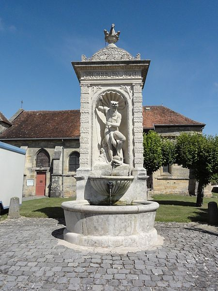 Andernay (Meuse) fontaine